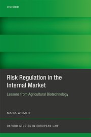 Cover for   Risk Regulation in the Internal Market
