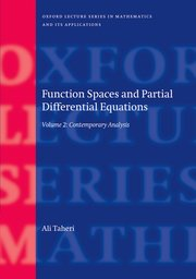 Cover for   Function Spaces and Partial Differential Equations