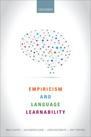 Cover for   Empiricism and Language Learnability