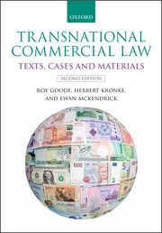 Cover for   Transnational Commercial Law