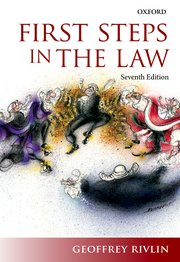 Cover for   First Steps in the Law