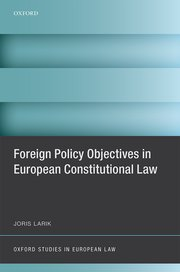 Cover for   Foreign Policy Objectives in European Constitutional Law