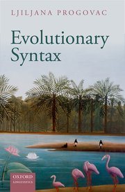 Cover for   Evolutionary Syntax