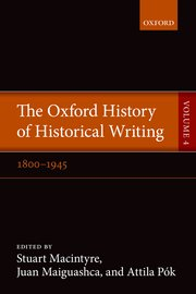 Cover for   The Oxford History of Historical Writing