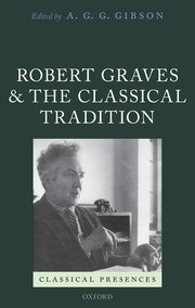 Cover for   Robert Graves and the Classical Tradition