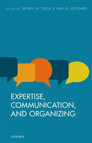 Cover for   Expertise, Communication, and Organizing
