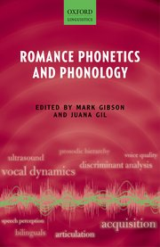 Cover for   Romance Phonetics and Phonology