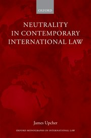 Cover for   Neutrality in Contemporary International Law