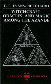 Cover for   Witchcraft, Oracles and Magic among the Azande