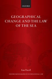 Cover for   Geographical Change and the Law of the Sea