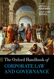 Cover for   The Oxford Handbook of Corporate Law and Governance