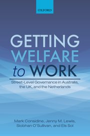 Cover for   Getting Welfare to Work