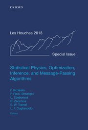Cover for   Statistical Physics, Optimization, Inference, and Message-Passing Algorithms