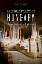 Cover for   Customary Law in Hungary