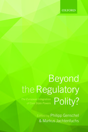 Cover for   Beyond the Regulatory Polity?