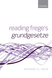 Cover for   Reading Freges Grundgesetze