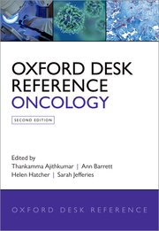 Cover for   Oxford Desk Reference: Oncology