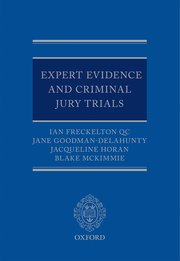 Cover for   Expert Evidence and Criminal Jury Trials