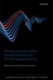 Cover for   Minority Accommodation through Territorial and Non-Territorial Autonomy
