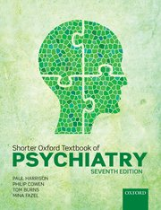 Cover for   Shorter Oxford Textbook of Psychiatry