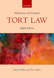 Cover for   Markesinis & Deakins Tort Law