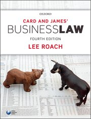 Cover for   Card & James Business Law