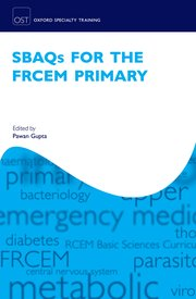 Cover for   SBAQs for the FRCEM Primary