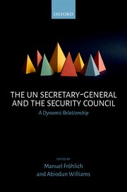 Cover for   The UN Secretary-General and the Security Council