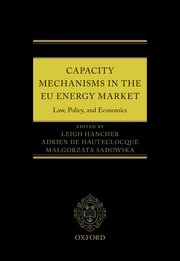 Cover for   Capacity Mechanisms in the EU Energy Market