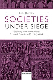 Cover for   Societies Under Siege