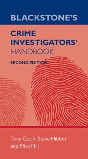 Cover for   Blackstones Crime Investigators Handbook