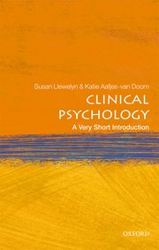 Cover for   Clinical Psychology: A Very Short Introduction