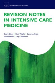 Cover for   Revision Notes in Intensive Care Medicine
