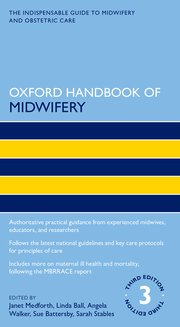 Cover for   Oxford Handbook of Midwifery 3e