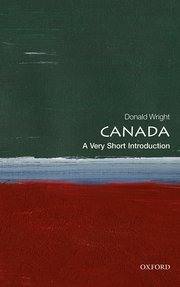 Cover for   Canada: A Very Short Introduction