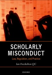 Cover for   Scholarly Misconduct