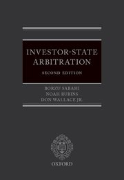 Cover for   Investor-State Arbitration