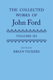 Cover for   The Collected Works of John Ford