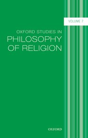 Cover for   Oxford Studies in Philosophy of Religion, Volume 7