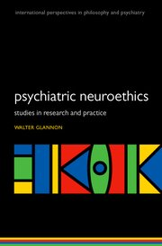 Cover for   Psychiatric Neuroethics