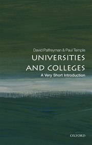 Cover for   Universities and Colleges: A Very Short Introduction