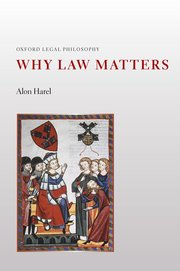 Cover for   Why Law Matters