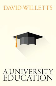 Cover for   A University Education