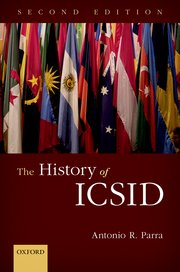 Cover for   The History of ICSID
