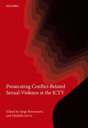Cover for   Prosecuting Conflict-Related Sexual Violence at the ICTY