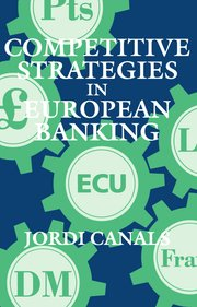 Cover for   Competitive Strategies in European Banking