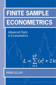 Cover for   Finite Sample Econometrics