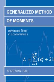 Cover for   Generalized Method of Moments