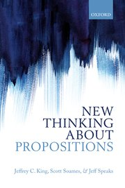 Cover for   New Thinking about Propositions