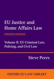 Cover for   EU Justice and Home Affairs Law